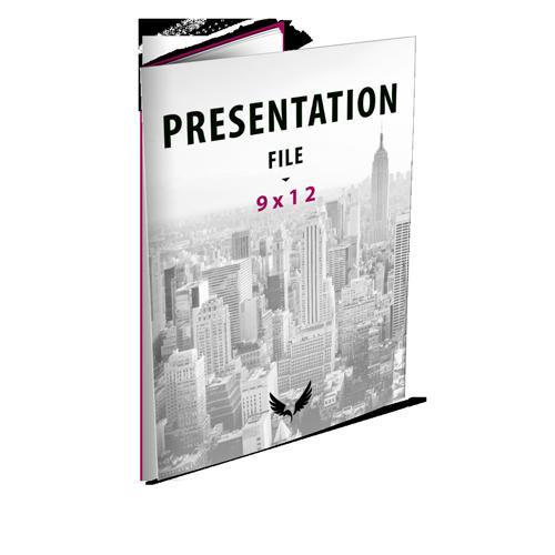 9x12 Presentation Folder