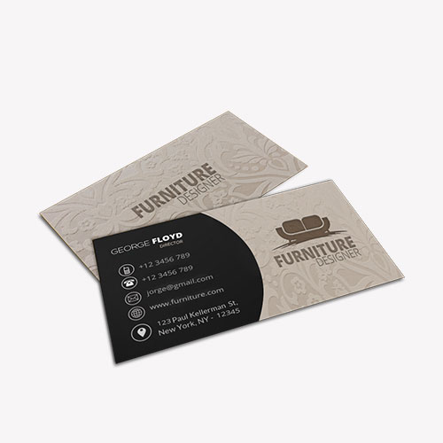 Embossed Business Cards 3