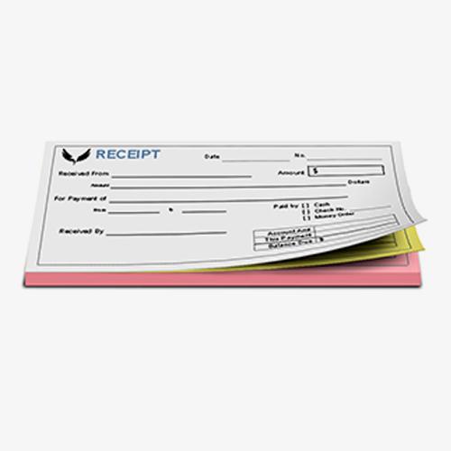 Receipt Forms