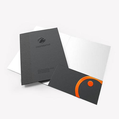 Spot UV Folder